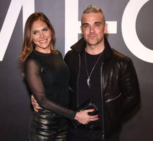 Robbie Williams et sa femme depuis 2010, Ayda Fields. Ensemble, ils ont deux enfants.