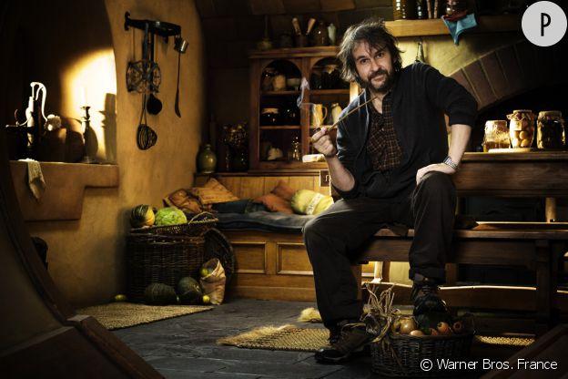 """Peter Jackson, réalisateur de """"Le Hobbit : un voyage inattendu""""."""