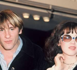 """Gérard Depardieu et Isabelle Adjani en 1976. Si Alain est un """"homme de l'ombre, Gérard est dans la lumière"""", mais tous deux se ressemblent."""