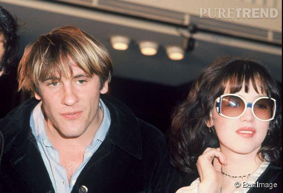 """Gérard Depardieu et Isabelle Adjani en 1976. Si Alain est un  """"homme de l'ombre, Gérard est dans la lumière"""" , mais tous deux se ressemblent."""