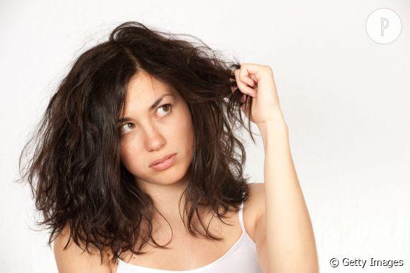 coiffure pour cheveux secs