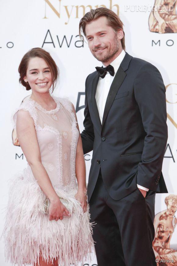 Emilia Clarke et Nikolaj Coster-Waldau.