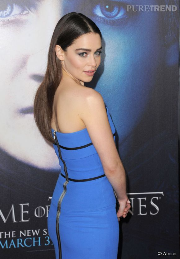 "Emilia Clarke alias Daenerys Targeryen dans ""Game of Thrones""."