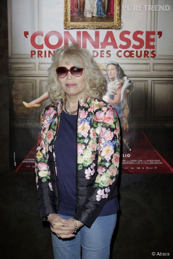 """Amanda Lear est venue applaudir Camille Cottin, """"la connasse"""", pour son premier film !"""