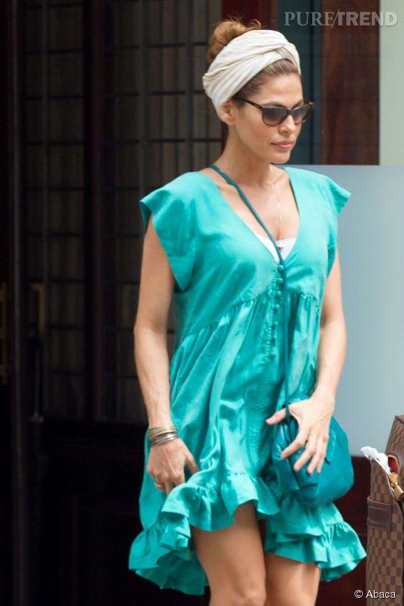 À 41 ans, Eva Mendes est féminine et sexy.  L'âge n'a pas d'emprise sur elle !