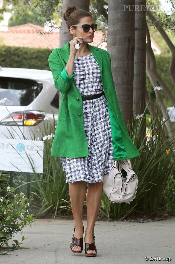Eva Mendes a du style à revendre.