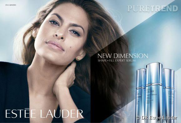 Eva Mendes, nouvelle égérie beauté pour Estée Lauder.