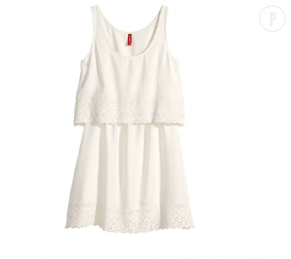 Une jolie petite robe blanche pour l'été !