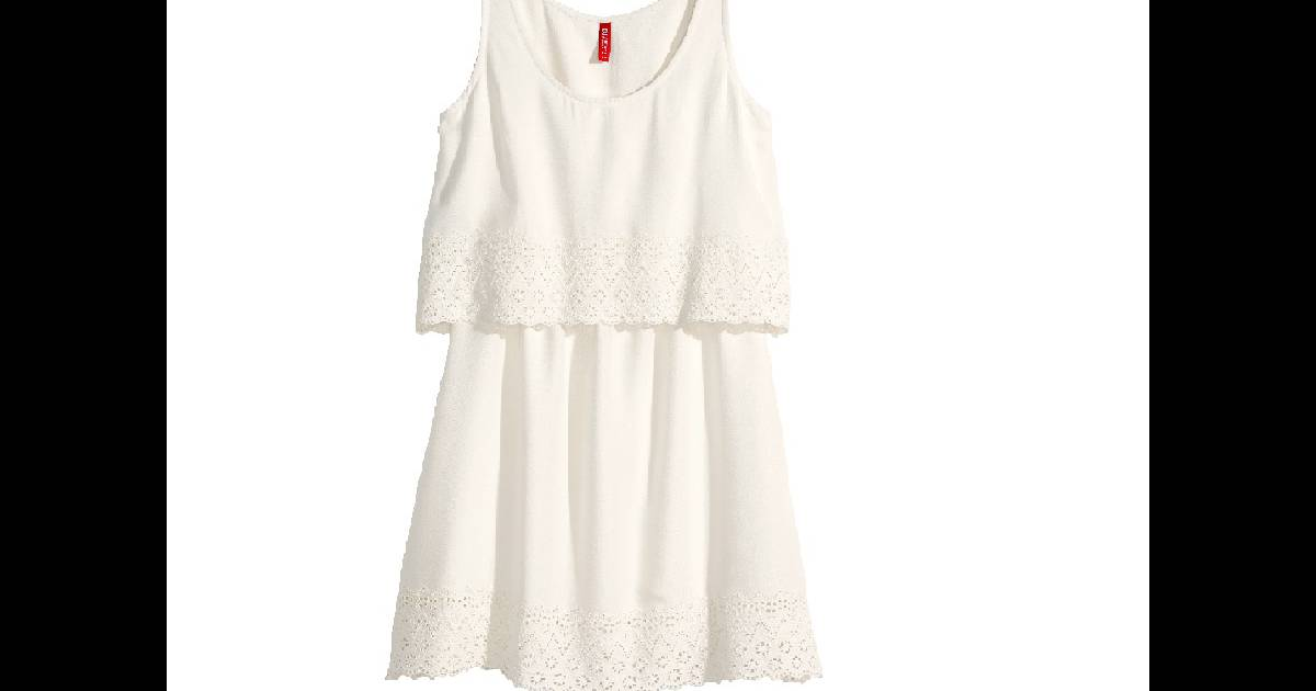 14 petites robes blanches tendances pour l 39 t 2015. Black Bedroom Furniture Sets. Home Design Ideas