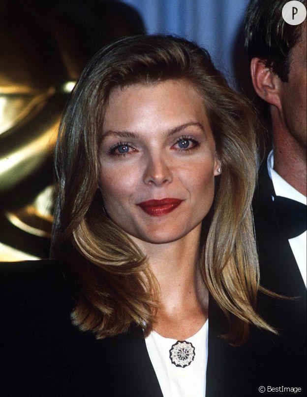 Michelle Pfeiffer à la cérémonie des Oscars, en 1989.