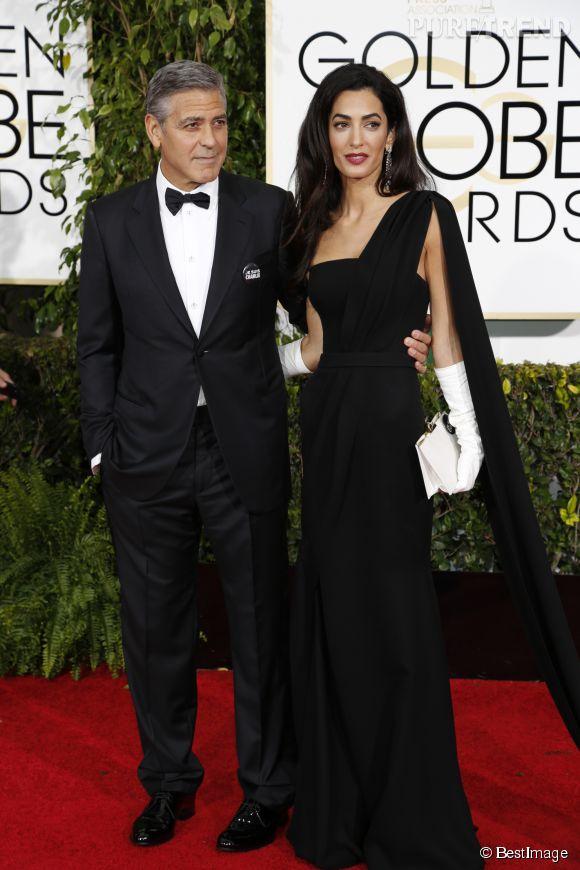 Amal et George Clooney attendraient déjà leur premier enfant selon le magazine OK!