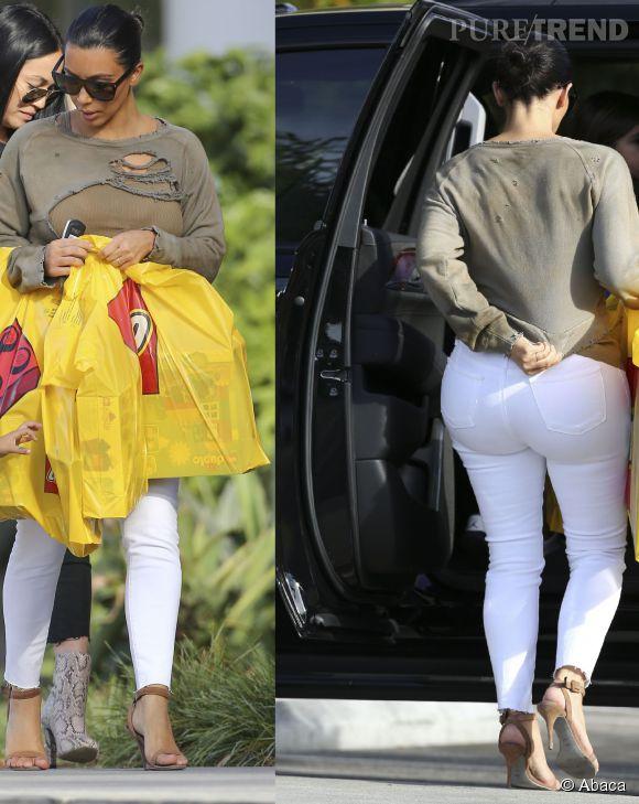 Kim Kardashian numéro 1 du classement des plus gros fessiers de stars. No comment...