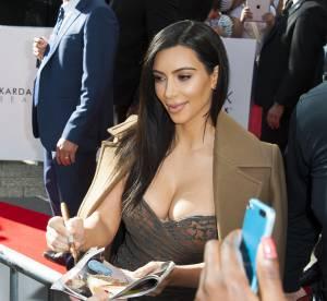 Kim Kardashian, selfies hot en lingerie avant d'aller au lit