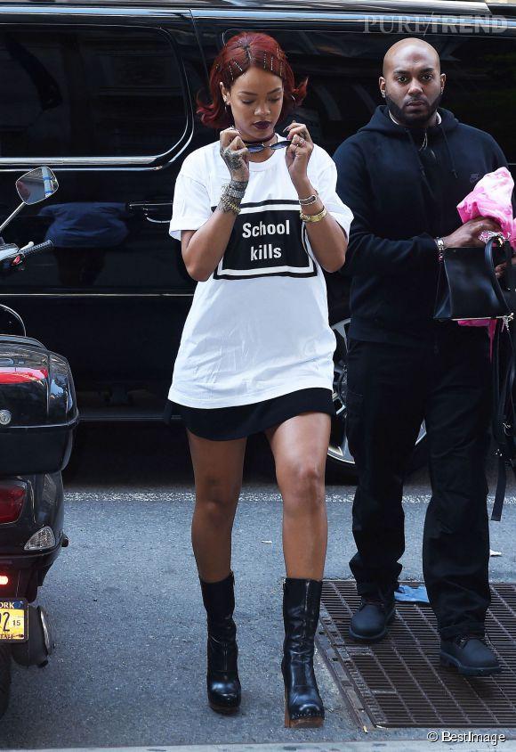 """Rihanna prête d'ailleurs sa voix au film d'animation """"En Route !"""""""