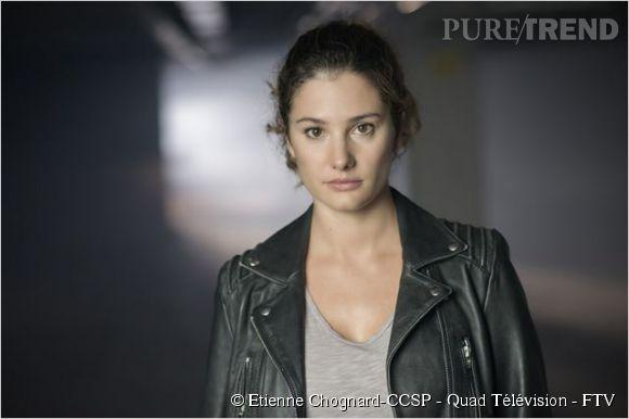"""Alice Pol, alias Camille Guérin, l'une des enquêtrices sur la disparition de Léa Morel dans """"Disparue""""."""