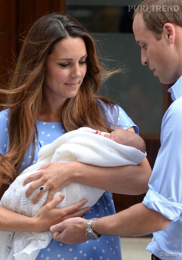 Kate Middleton et William ont gâté George.
