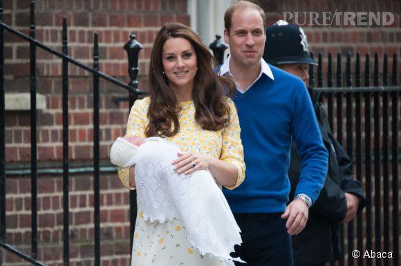 Kate et William pensent déjà à la poussette de leur fille Charlotte.