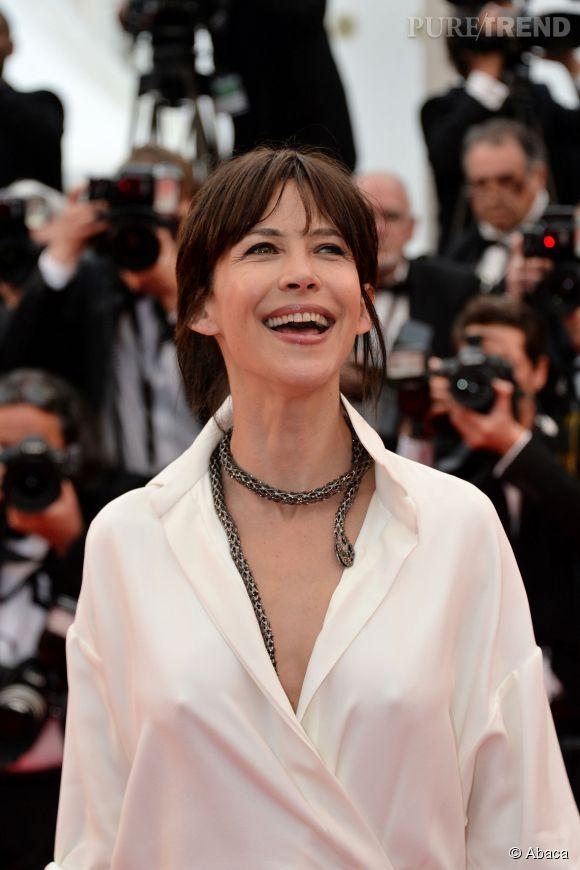 Sophie Marceau est venue faire une apparition de rêve au Festival de Cannes 2015.Sophie Marceau
