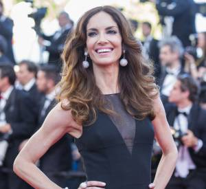 Eugenia Silva porte une robe Christian Dior.