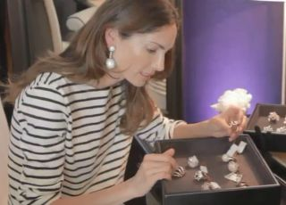 Dans la suite De Grisogono : Rencontre avec Eugenia Silva, top model espagnol