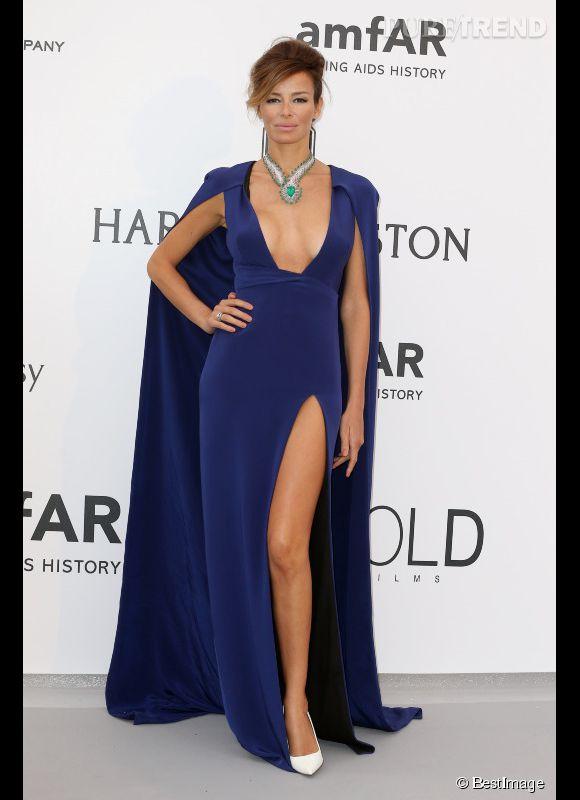 Carolina Parsons au 22ème gala de l'amfAR Cinema against AIDS le 21 mai 2015 à Cannes.
