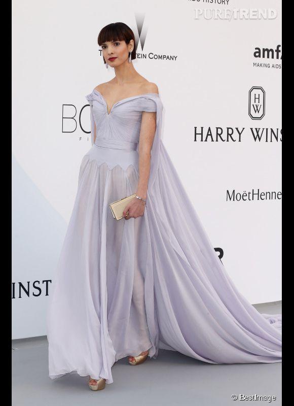 Une invitée au 22ème gala de l'amfAR Cinema against AIDS le 21 mai 2015 à Cannes.