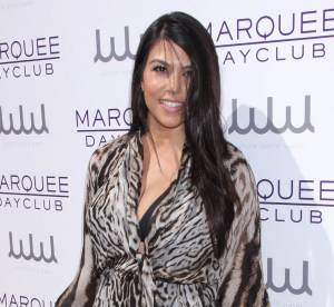 Kourtney Kardashian : provocante en cuissardes, elle sort sans pantalon !