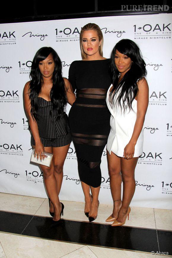 Khloe Kardashian à fait la fête à Las Vegas avec ses meilleures amies Malika Haqq et French Montana