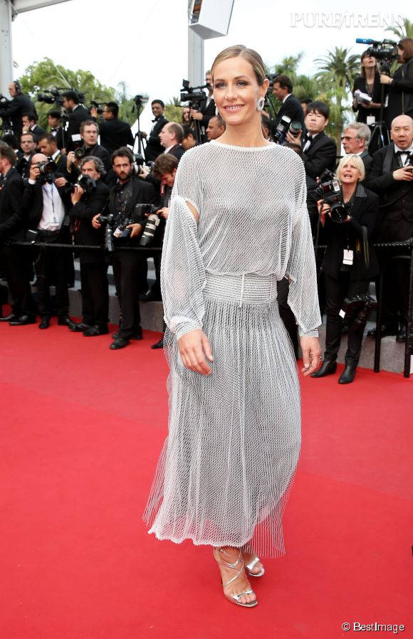 Cécile de France la plus frenchie des actrices belges, magnifique en robe Chanel haute couture.