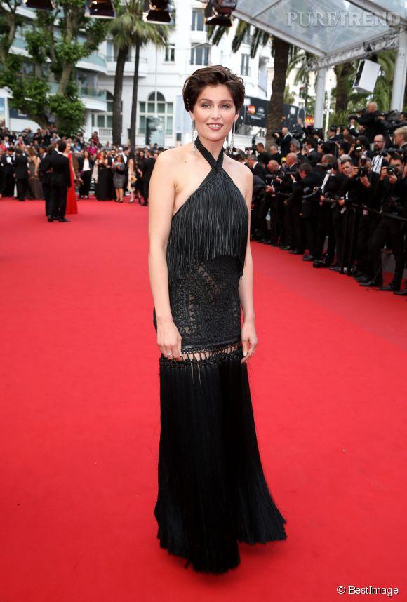Laetitia Casta était belle à tomber en robe Givenchy haute couture, pour la clôture du  Festivale de Cannes 2015.