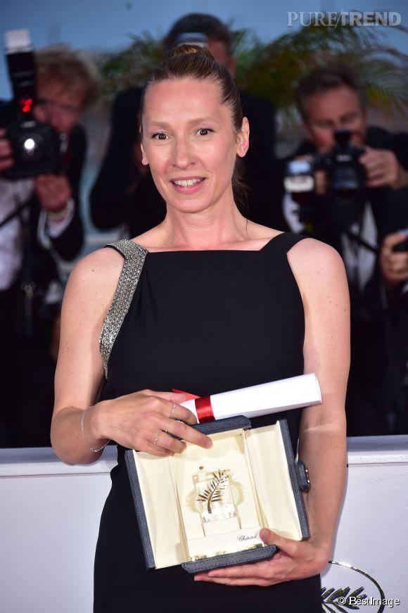 Emmanuelle Bercot a remporté hier soir le prix d'interprétation féminine au 68e Festival de Cannes.
