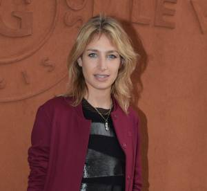 Pauline Lefèvre, sensuelle et rock : elle ose l'imprimé léopard à Roland Garros