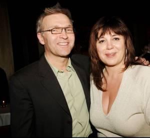 Michèle Bernier et Laurent Ruquier en 2006.