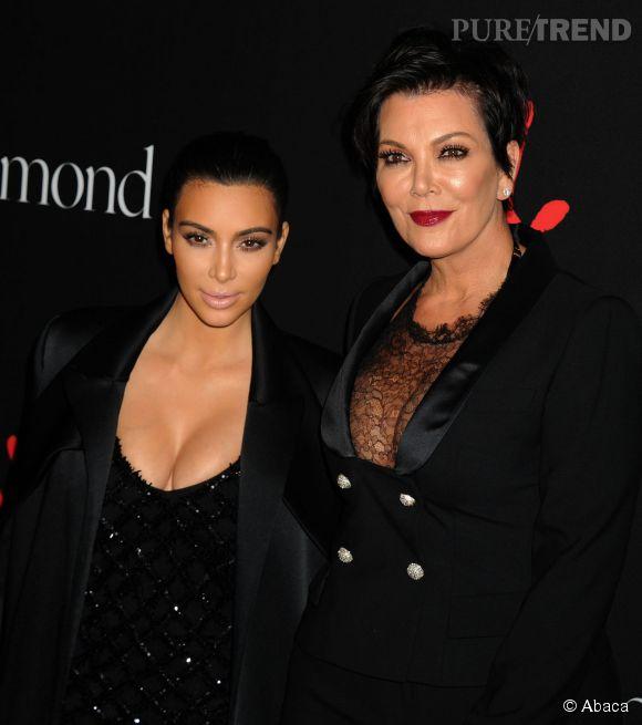 Kim Kardashian est enceinte pour la deuxième fois. Kris, sa mère, est ravie.