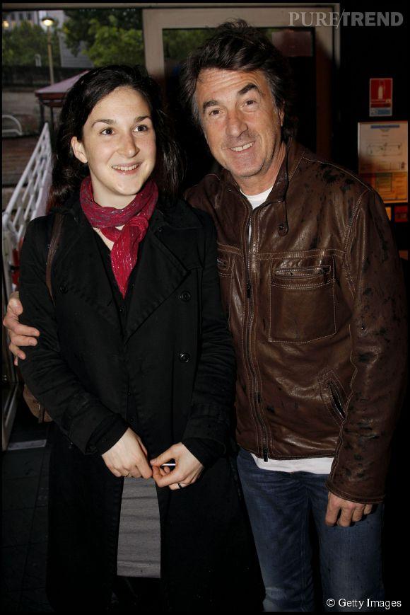 François Cluzet et sa fille Blanche, en 2010.