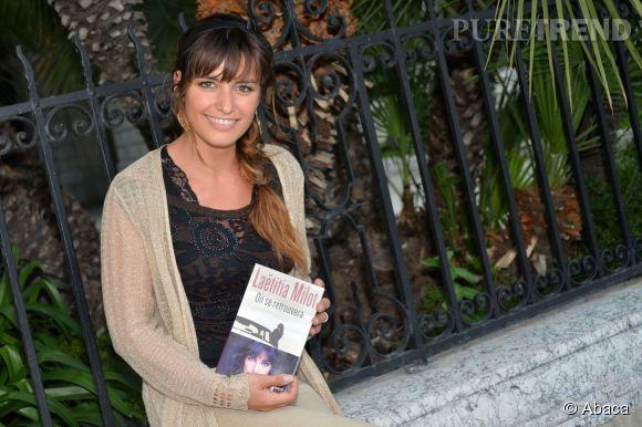 """Laëtitia Milot a publié, en 2013, le livre """"On se retrouvera""""."""