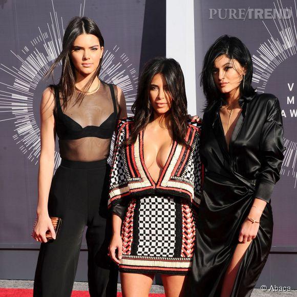 Kim Kardashian, un vrai modèle pour ses soeurs.