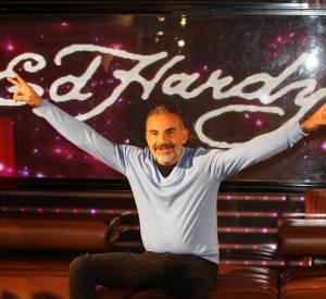 """Christian Audigier est connu pour avoir créé sa marque """"Ed Hardy""""."""