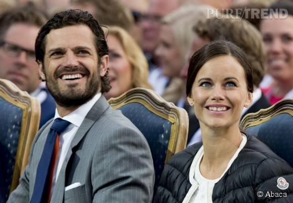 Sofia Hellqvist et Carl-Philip, couple princier glamour.
