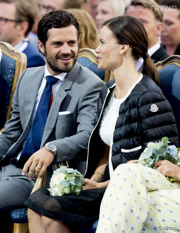 Sofia Hellqvist s'habitue à sa vie de princesse avec son prince Carl Philip.