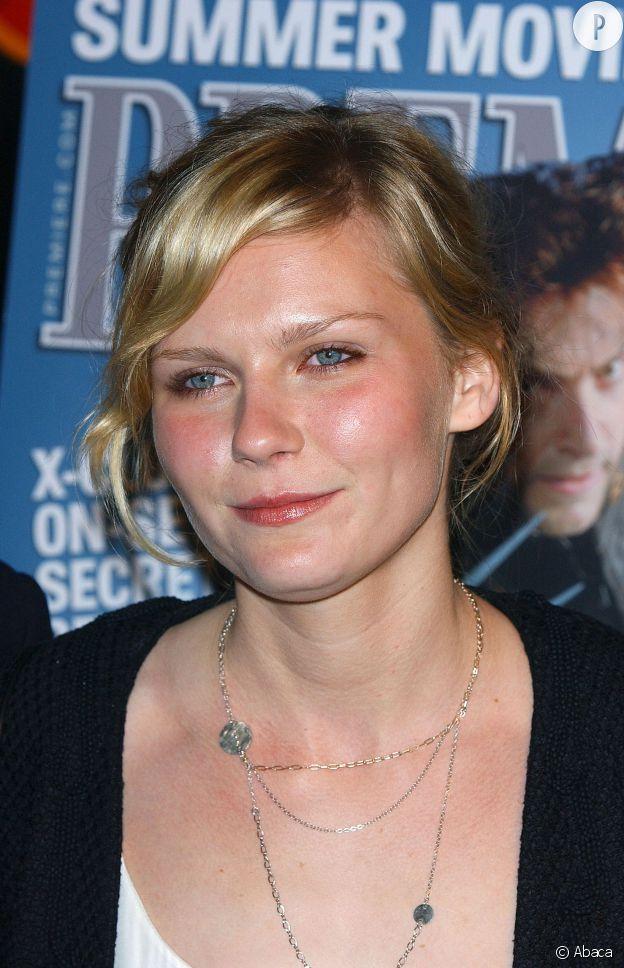 Kirsten Dunst et son coup de soleil en 2003.