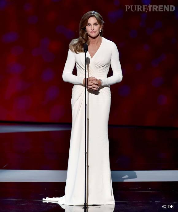 Caitlyn Jenner était aux EPSY Awards pour recevoir le prix Arthur Ashe du courage 2015.