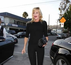 Melanie Griffith dans les rues de Los Angeles ce mercredi 15 juillet 2015.