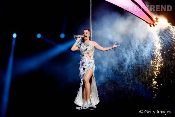 Katy Perry, nouvelle égérie H&M pour la fin d'année 2015.