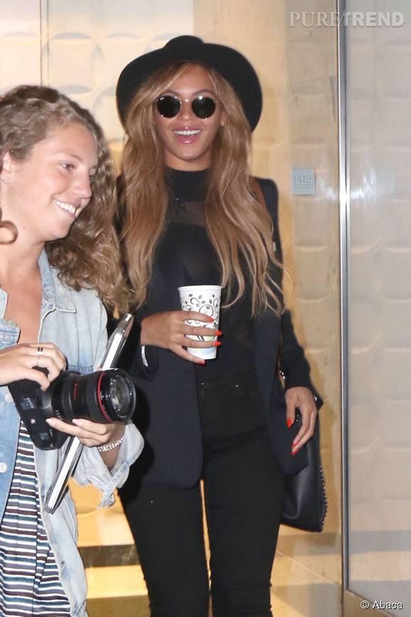 Beyoncé, une accessoirisation au top.