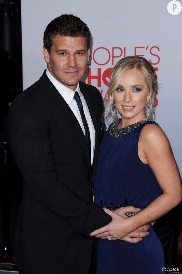 David Boreanaz et sa femme Jaime Bergman.