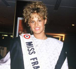 Nathalie Marquay, Miss France 1987.