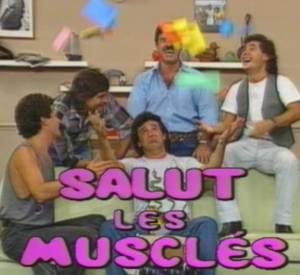 """Nathalie Marquay a fait une apparition dans la sitcom """"Salut les musclés"""""""