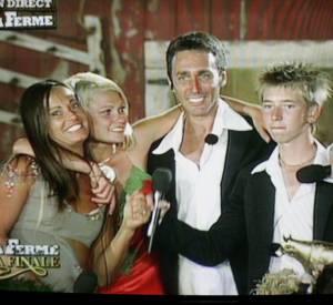 """En 2005, Nathalie Marquay participe à l'émission de télé-réalité """"La Ferme Célébrités 2"""" sur TF1."""