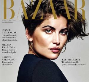 Laetitia Casta, beauté hypnotisante et sensuelle pour Harper Bazaar Espagne